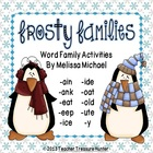 Frosty Families ~ Word Families with long vowels *Phonics FREEBIE
