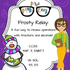 Frosty Relay: A fun way to review operations with fraction