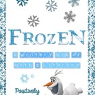 Frozen! A Wintery Mix of Math and Literacy Activities