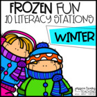 Frozen Fun! {10 Hands-On Literacy Centers for Winter}