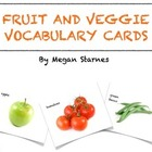 Fruit and Veggie Sorting Cards