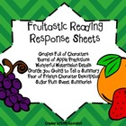 Fruitastic Reading Response Sheets to be used with any book