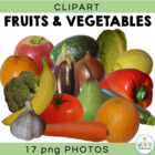 Fruits and Vegetables - Digital Clipart Images