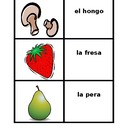 Frutas y verduras (Fruits and Vegetables in Spanish) conce