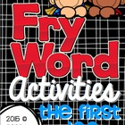 Fry Word Activities {The First 100}