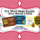 Fry Word MEGA Bundle {Fry Words 1-500}