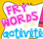 Fry Words 101-200 Activity Mega Pack