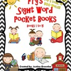 Fry's Sight Word Pocket / Sticker Books { First 500 Words}