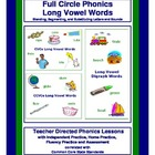 Full Circle Phonics - Book 2 - Long Vowels