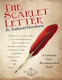 Hawthorne's The Scarlet Letter Handouts, Files, and More!