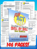 Fun ACT Prep: Skill by Skill (full digital workbook)
