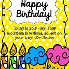 Fun Birthday Book for Early Childhood