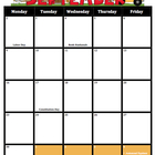 Teacher Calendar M-F 2013-2014 (Includes holidays and spec