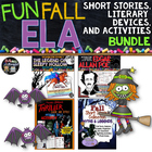 Fun Fall ELA Literature and Activities Bundle