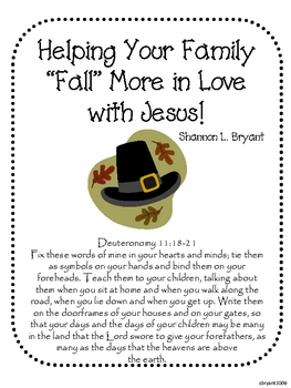 "Fun Fall Ideas to Help Your Family ""Fall"" in Love with Jesus"