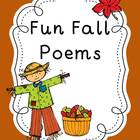 Fun Fall Poems