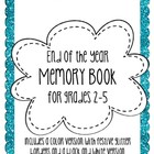 Fun & Festive End of Year Memory Book
