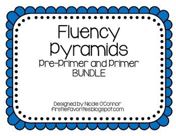 http://www.teacherspayteachers.com/Product/Fun-Fluency-Trianges-BUNDLE-Pre-Primer-and-Primer-Words-1124136
