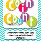 Fun Math Centers Bundle for Counting Money and Geometry