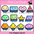 Fun Shapes Clip Art Set - Personal or Commercial Use