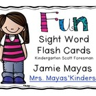 Fun Sight Word Flash Cards
