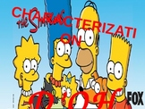 Fun Simpsons Characterization Powerpoint w/ Video Clips!