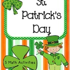 Fun St. Patrick's Day Math Stations