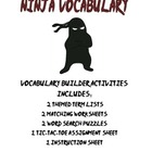 Fun Standardized Test Prep Themed Vocabulary: Ninja Vocabulary