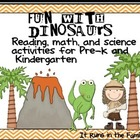 Fun With Dinosaurs: Activities for Pre-k and Kindergarten