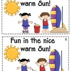 Fun in the Sun Emergent Reader Level c