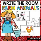 Fun on the Farm-Read and Write the Room