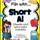 Fun with Short A! {Common Core Word Work Activities}