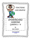 Functions and Graphs Unit: SmartBoard Lessons (Bundled)