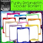Funky Rectangleish Doodle Borders: For Personal & Commercial Use