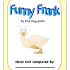 Funny Frank Comprehension Questions