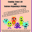 Funny Monsters I See Counting 1-20, Sight Word, and Senten
