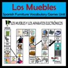 Furniture and Appliances (Muebles) Vocabulary Activities &