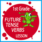 Future Tense Verbs-First Grade Common Core Lesson