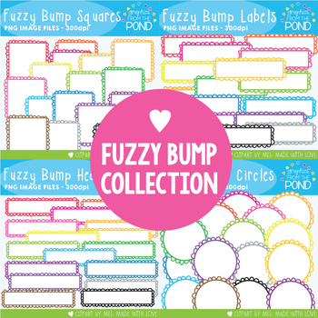 Fuzzy Bump Collection - Badges, Borders and Headers