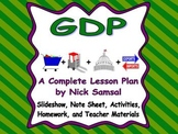 GDP (Gross Domestic Product) - Lesson Plan and Activities