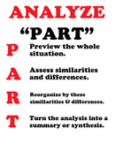 """""""GENERALIZE"""" Poster: Acronym for Teaching Thinking in the CCSS"""