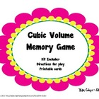 GEOMETRY Cubic Volume Memory Game