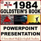 GOLDSTEIN'S BOOK 1984 Dynamic and Vibrant Powerpoint Presentation