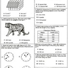 Grade 4 Measurement Assessements: Category 4  6 Assessemen