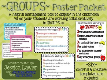 GROUPS Poster - FREEBIE!