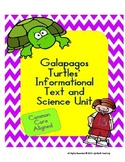 Galapagos Turtle Informational Text and Science Unit