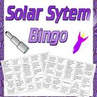 Game: 3 in 1 solar system bingo (38 cards, 100 clues)