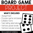Game Board Project (Instead of a test, try this!)