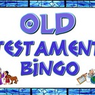 Game: Old Testament bingo cards and clues
