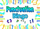 Game: Punctuation Bingo (30 cards, 60+ clues)
